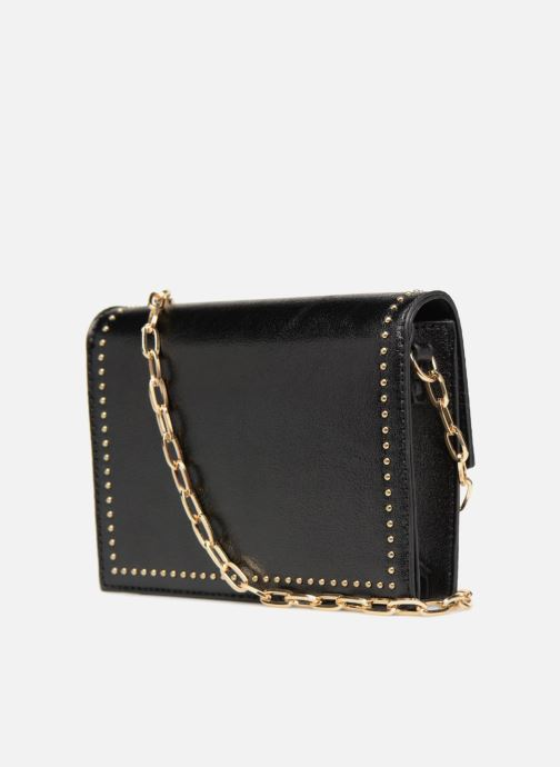 Handbags Street Level Mettalic chainstrap crossbody Black view from the right