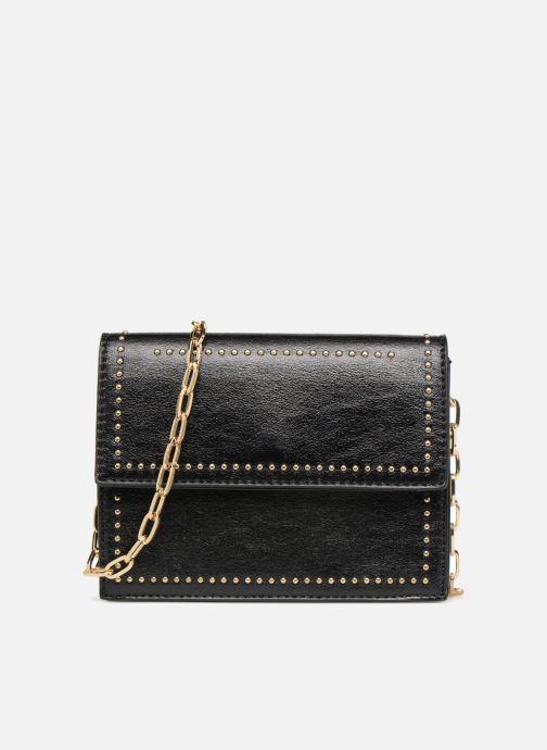 Handbags Street Level Mettalic chainstrap crossbody Black detailed view/ Pair view