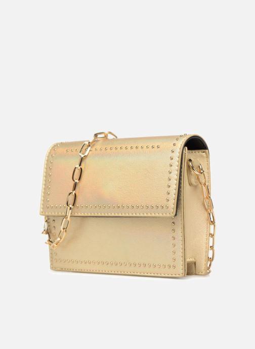 Handbags Street Level Mettalic chainstrap crossbody Bronze and Gold model view