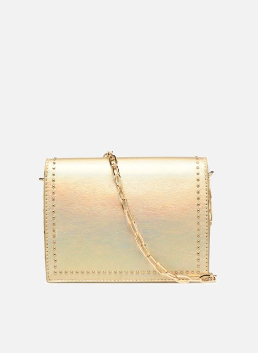 Handbags Street Level Mettalic chainstrap crossbody Bronze and Gold front view