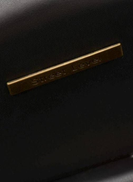 Handbags Street Level Mettalic chainstrap crossbody Bronze and Gold back view