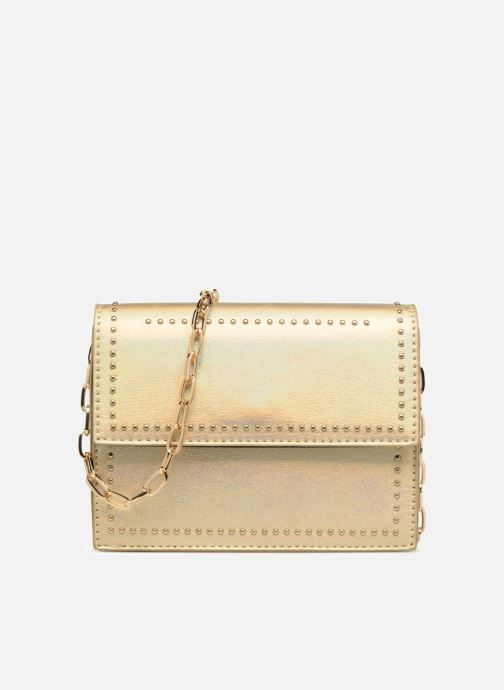 Handbags Street Level Mettalic chainstrap crossbody Bronze and Gold detailed view/ Pair view