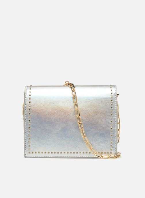 Sacs à main Street Level Mettalic chainstrap crossbody Argent vue face