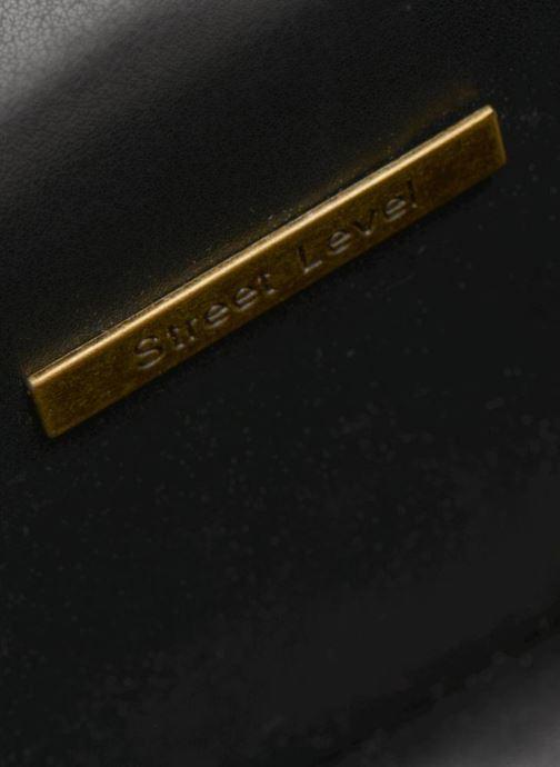 Handtaschen Street Level Mettalic chainstrap crossbody silber ansicht von hinten