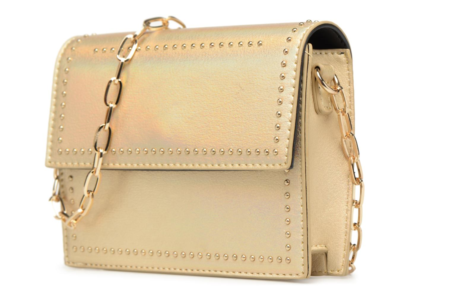 Handtassen Street Level Mettalic chainstrap crossbody Goud en brons model