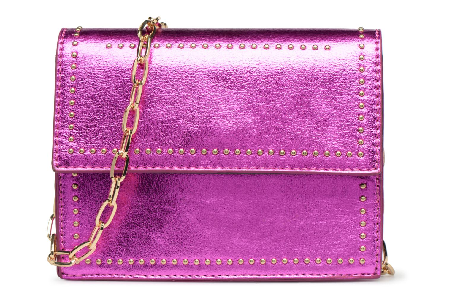 Sacs à main Street Level Mettalic chainstrap crossbody Rose vue détail/paire