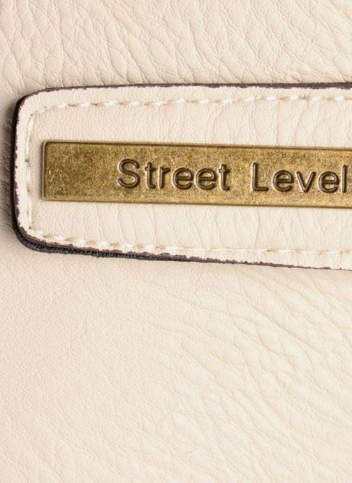 Sacs à main Street Level Tote with top zipper Beige vue derrière