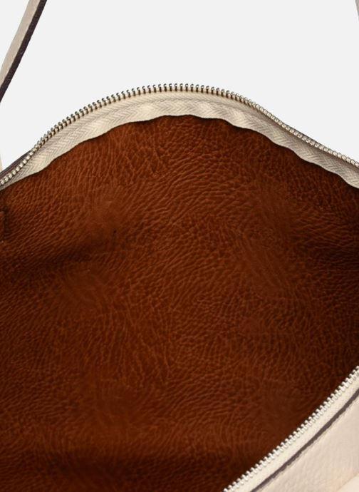 Sacs à main Street Level Tote with top zipper Beige vue gauche