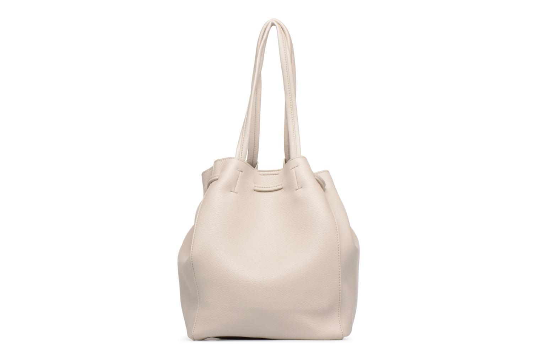 Handtaschen Street Level Tote with front tassel drawstring grau ansicht von vorne
