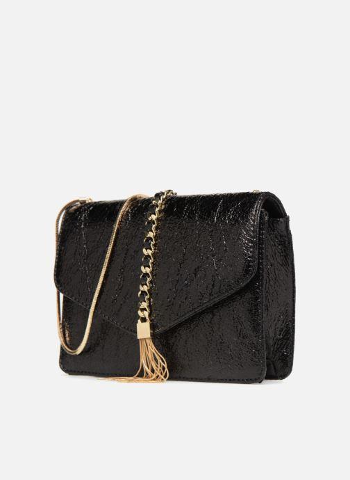 Sacs à main Street Level Shoulder bag w/chain and tassel detail Noir vue portées chaussures