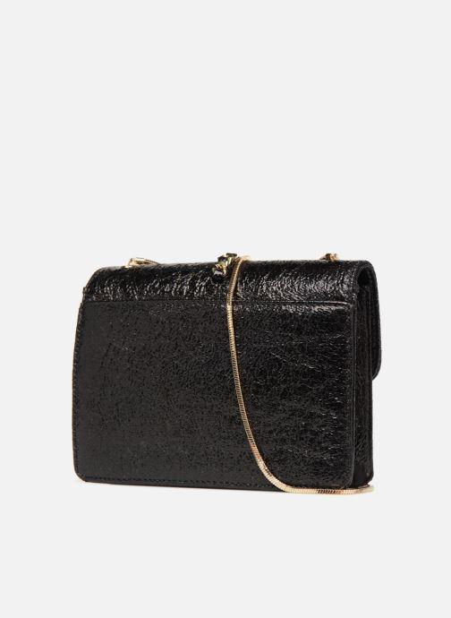 Sacs à main Street Level Shoulder bag w/chain and tassel detail Noir vue droite