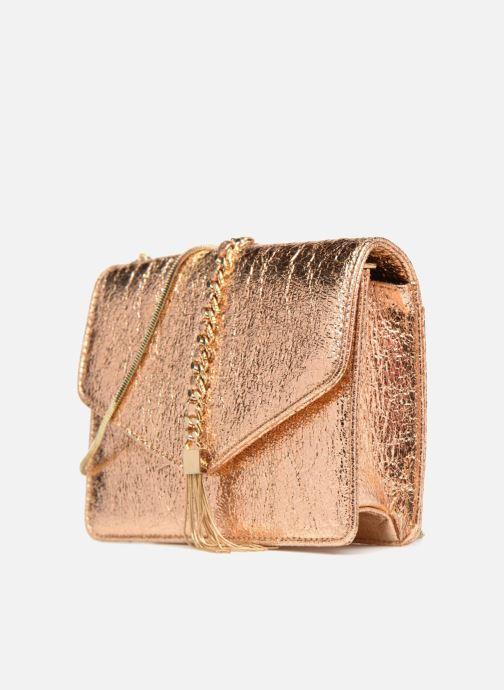 Sacs à main Street Level Shoulder bag w/chain and tassel detail Argent vue portées chaussures
