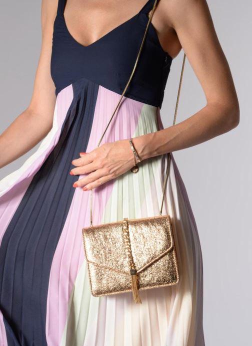 Sacs à main Street Level Shoulder bag w/chain and tassel detail Argent vue bas / vue portée sac