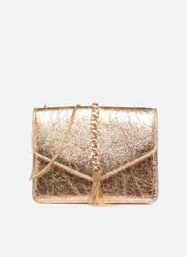 Shoulder bag w/chain and tassel detail