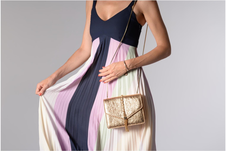Sacs à main Street Level Shoulder bag w/chain and tassel detail Argent vue haut
