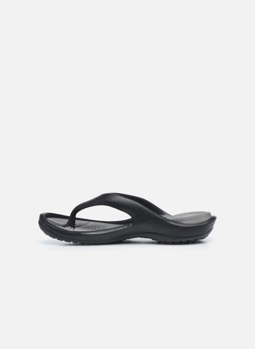 Sandalias Crocs Athens W Negro vista de frente