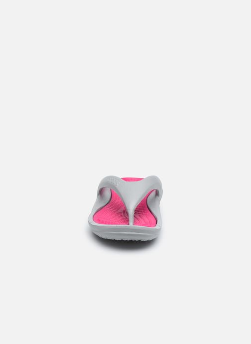Sandales et nu-pieds Crocs Athens W Gris vue portées chaussures