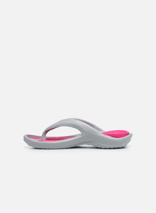 Sandales et nu-pieds Crocs Athens W Gris vue face