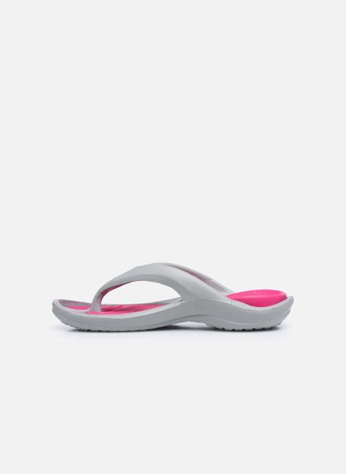 Sandali e scarpe aperte Crocs Athens W Grigio immagine frontale
