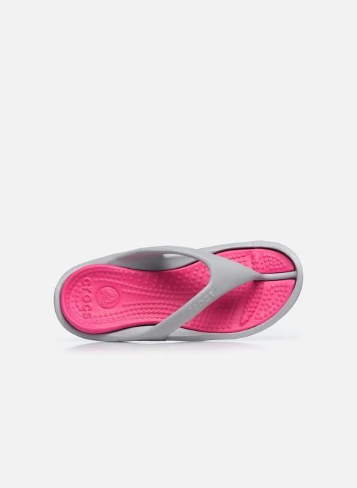 Sandales et nu-pieds Crocs Athens W Gris vue gauche