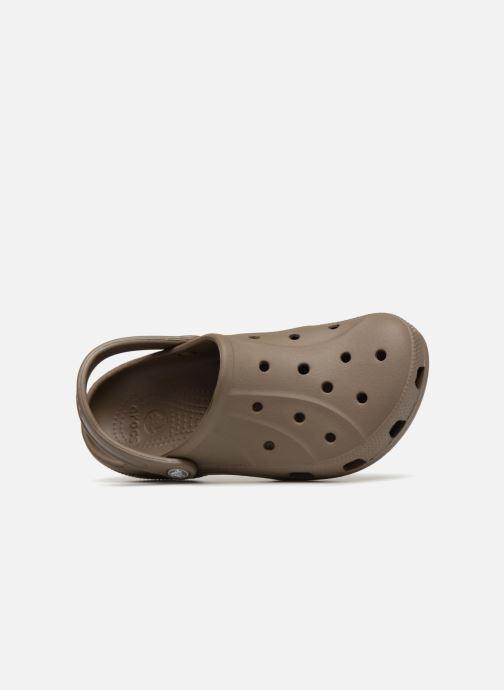 Mules et sabots Crocs Feat Marron vue gauche