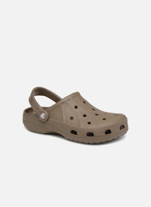 Mules et sabots Crocs Feat Marron vue détail/paire