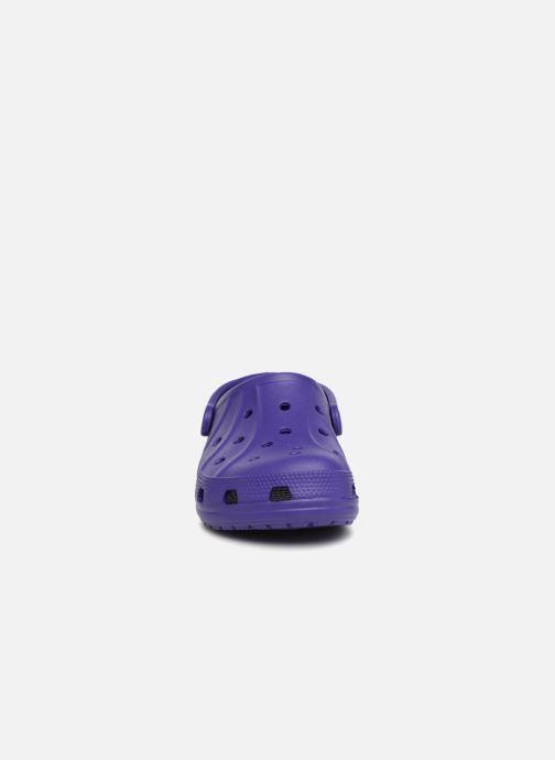 Mules et sabots Crocs Feat Violet vue portées chaussures