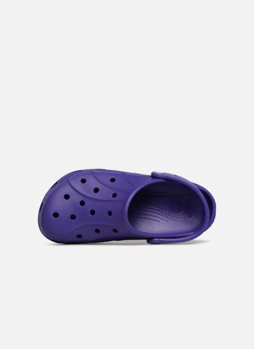 Zuecos Crocs Feat Violeta      vista lateral izquierda