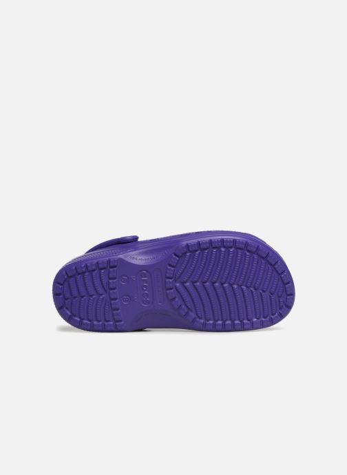 Mules et sabots Crocs Feat Violet vue haut
