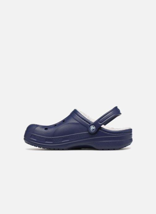 Sandales et nu-pieds Crocs Ralen Lined Clog Bleu vue face