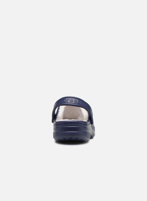 Sandales et nu-pieds Crocs Ralen Lined Clog Bleu vue droite