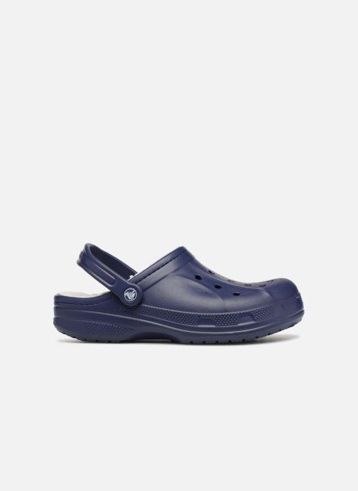 Sandales et nu-pieds Crocs Ralen Lined Clog Bleu vue derrière