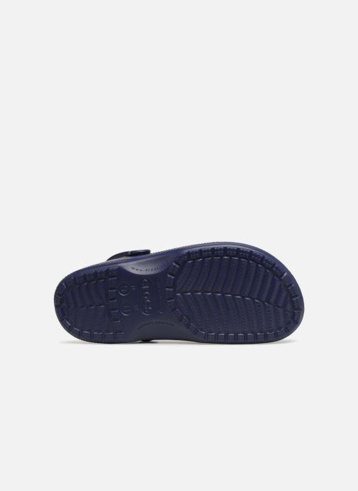 Sandales et nu-pieds Crocs Ralen Lined Clog Bleu vue haut