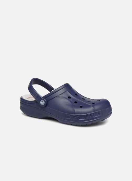 Sandals Crocs Ralen Lined Clog Blue detailed view/ Pair view