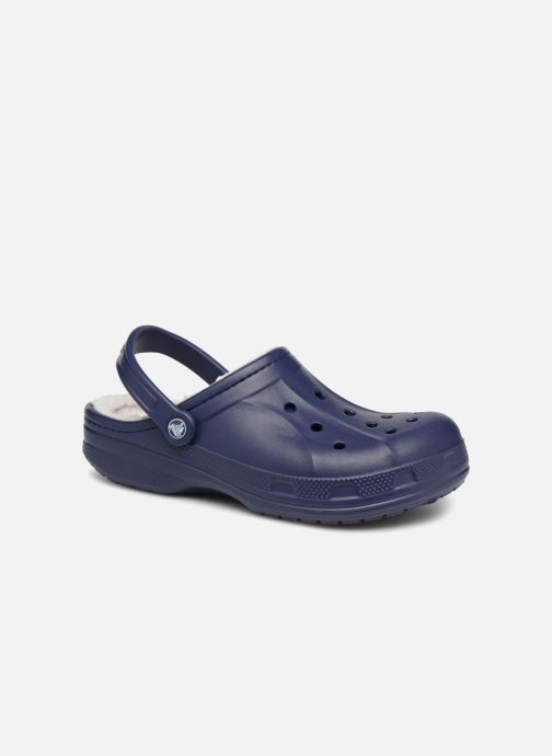 Sandales et nu-pieds Crocs Ralen Lined Clog Bleu vue détail/paire