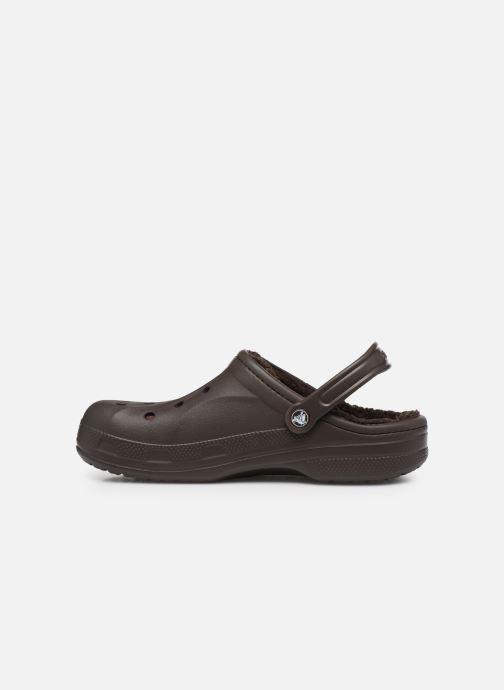 Sandales et nu-pieds Crocs Ralen Lined Clog Marron vue face