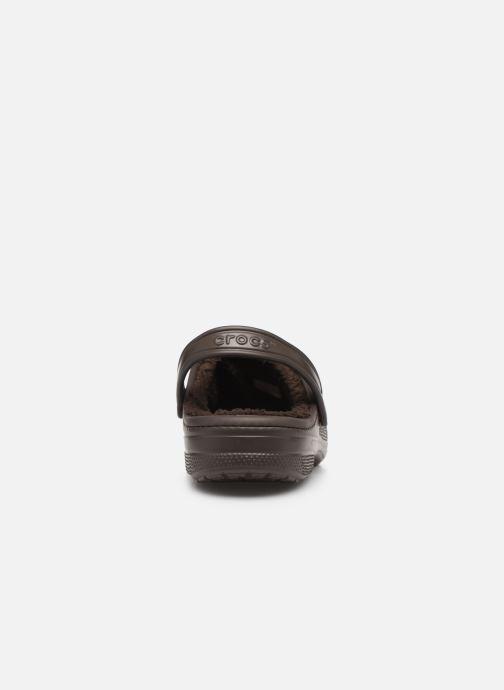 Sandales et nu-pieds Crocs Ralen Lined Clog Marron vue droite