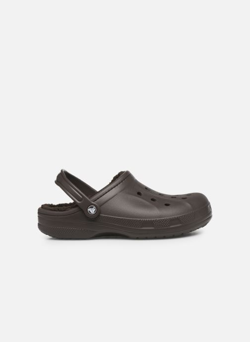 Sandales et nu-pieds Crocs Ralen Lined Clog Marron vue derrière