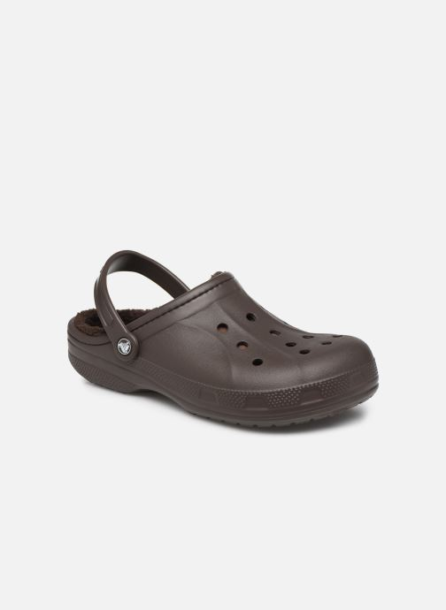Sandales et nu-pieds Crocs Ralen Lined Clog Marron vue détail/paire