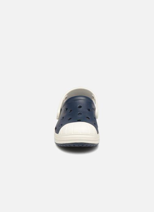 Sandales et nu-pieds Crocs Crocs Bump It Clog K Bleu vue portées chaussures