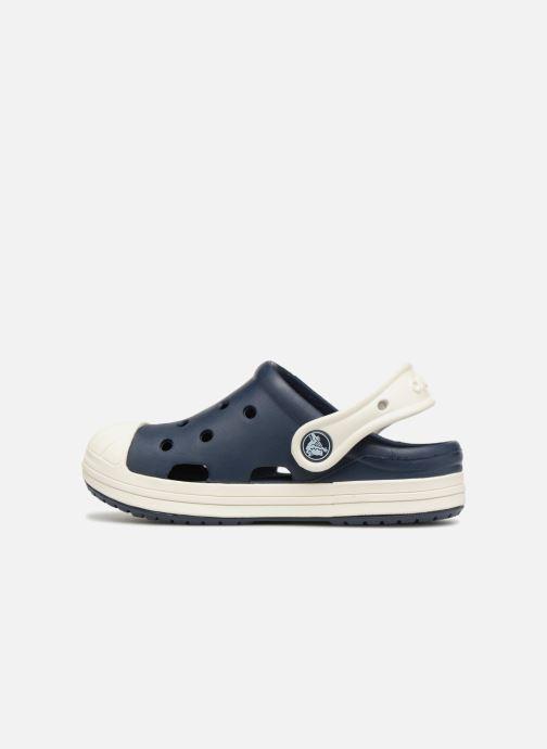 Sandales et nu-pieds Crocs Crocs Bump It Clog K Bleu vue face