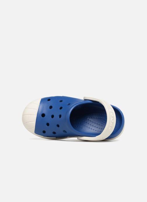 Sandales et nu-pieds Crocs Crocs Bump It Clog K Bleu vue gauche