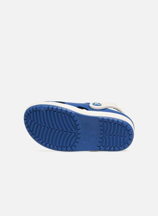 Sandales et nu-pieds Crocs Crocs Bump It Clog K Bleu vue haut