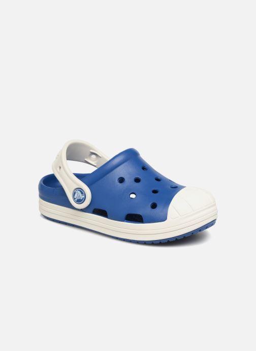 Sandales et nu-pieds Crocs Crocs Bump It Clog K Bleu vue détail/paire