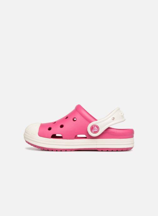 Sandales et nu-pieds Crocs Crocs Bump It Clog K Rose vue face