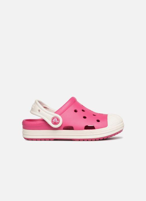 Sandales et nu-pieds Crocs Crocs Bump It Clog K Rose vue derrière