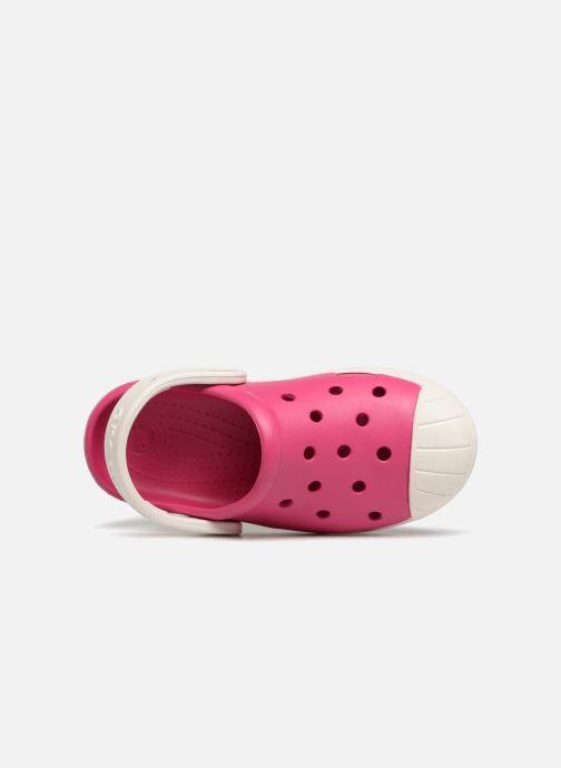 Sandales et nu-pieds Crocs Crocs Bump It Clog K Rose vue gauche