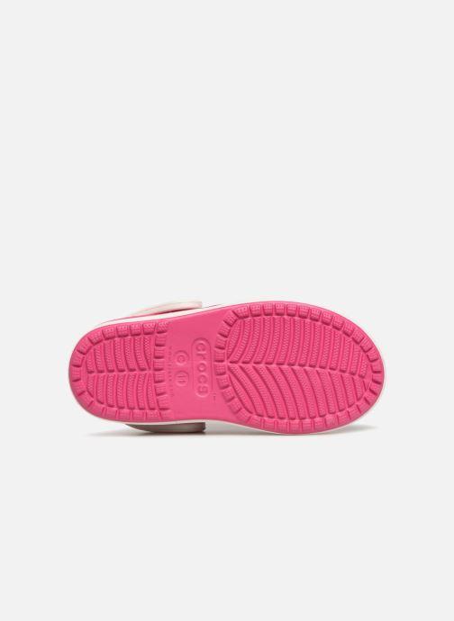 Sandales et nu-pieds Crocs Crocs Bump It Clog K Rose vue haut