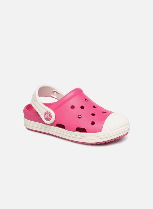 Sandales et nu-pieds Crocs Crocs Bump It Clog K Rose vue détail/paire