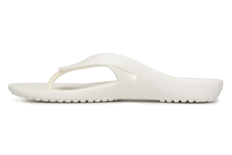 Tongs Crocs KadeeIIFlipW Blanc vue face